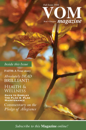 VOM Magazine Fall 2018 Issue - Veteran's Outreach Ministries - Delaware and Maryland
