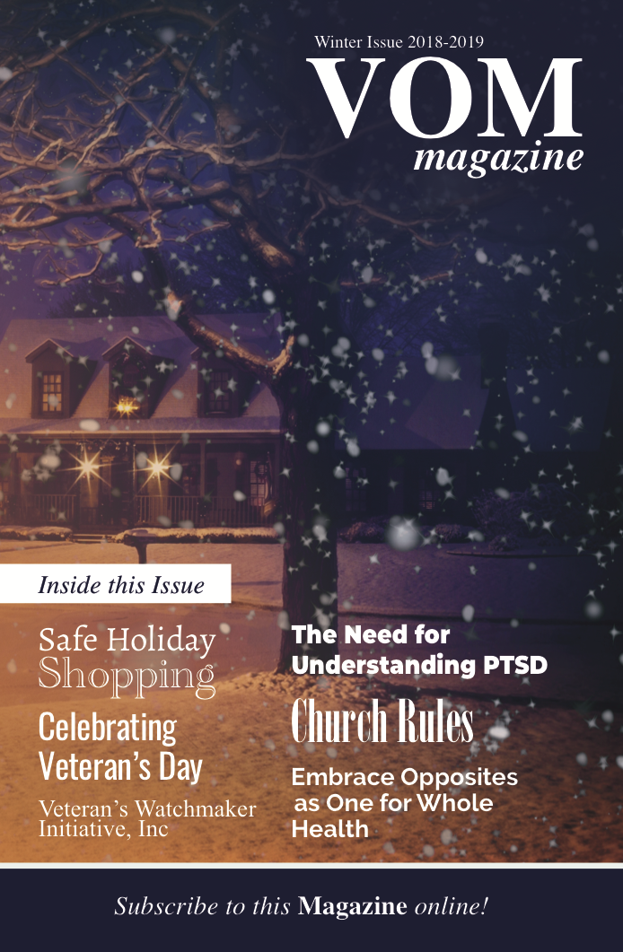 VOM Magazine Winter 2019 Issue - Veteran's Outreach Ministries - Delaware and Maryland