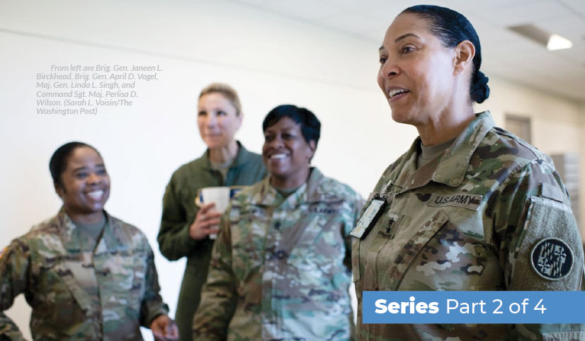 Women in the Military - Veteran's Outreach Ministries