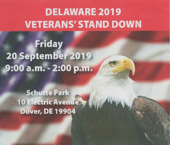 Delaware 2019 Veteran Stand Down