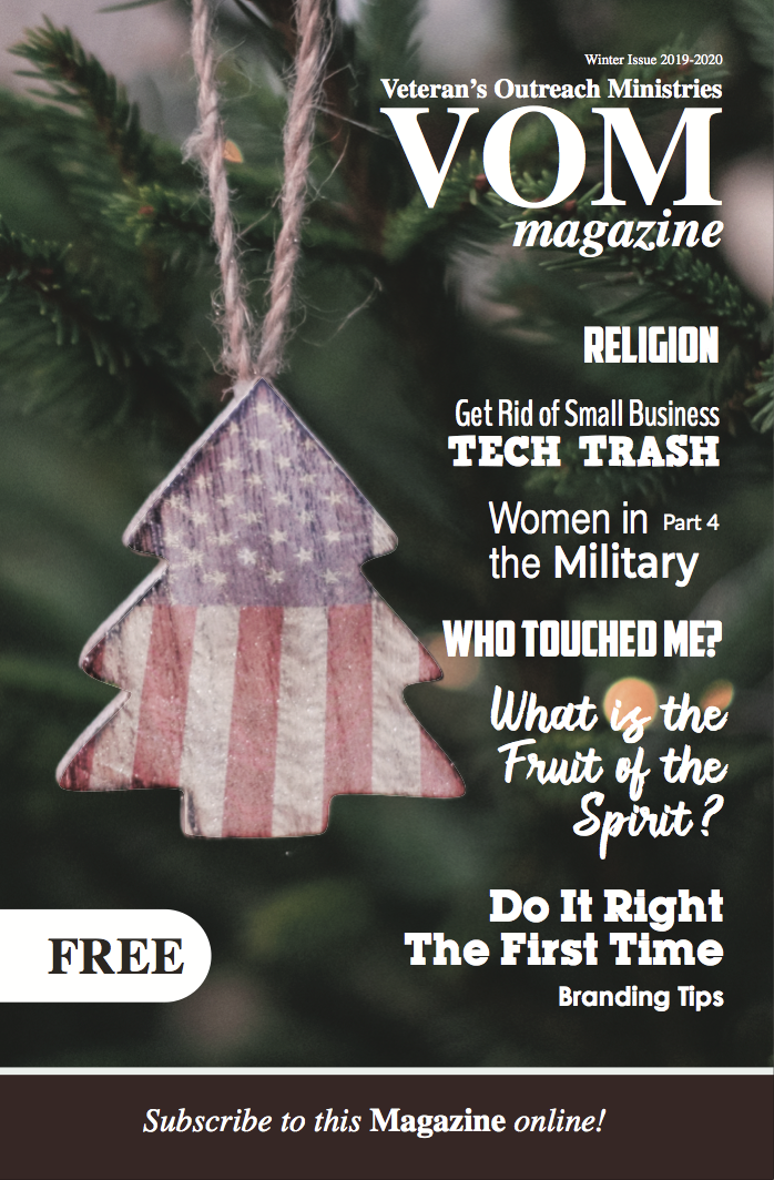 VOM Magazine Winter 2020 Issue - Veteran's Outreach Ministries