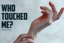 Who Touched Me - VOM Magazine - Veteran's Outreach Ministries