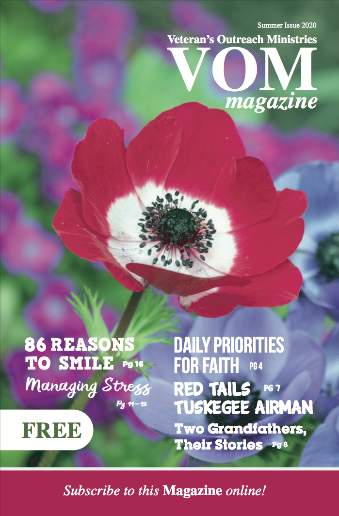 VOM Magazine Summer 2020 Issue - Veteran's Outreach Ministries