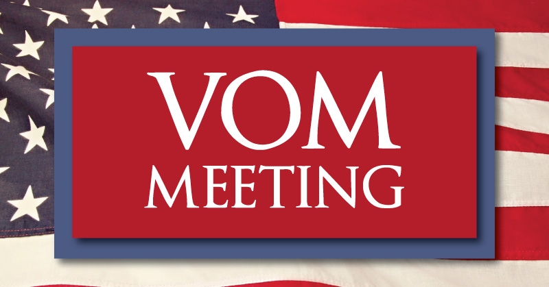 VOM Meeting - Veteran Outreach Ministries - Delaware and Maryland