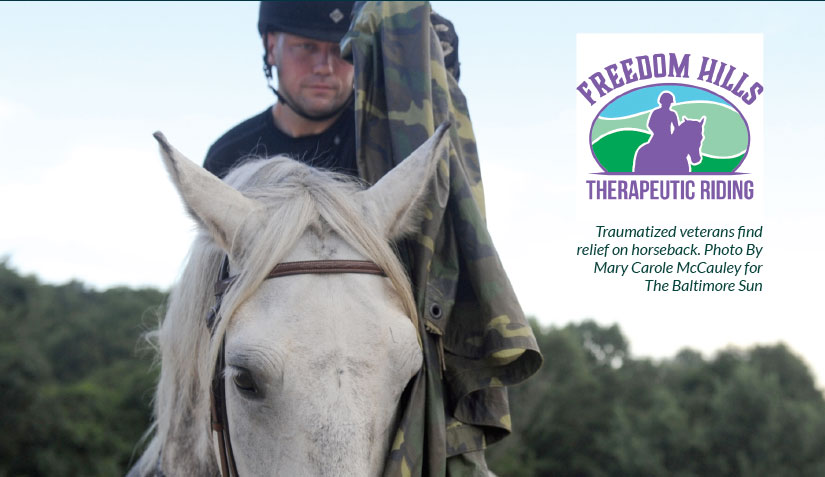 Freedom Hills Therapeutic Riding - Veteran's Outreach Ministries
