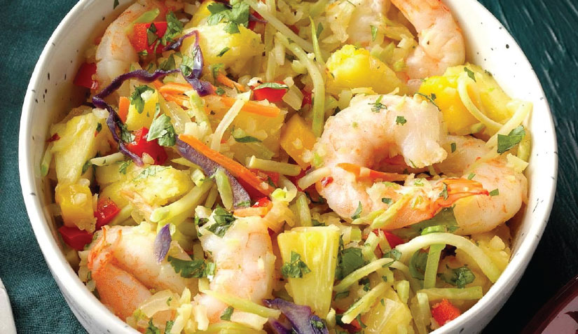 Caribbean Shrimp Bowl Recipe - Veteran's Outreach Ministries
