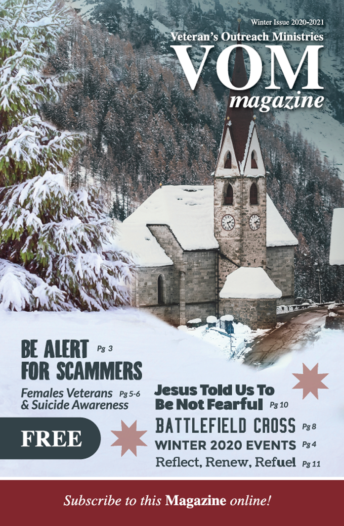 VOM Magazine Winter 2020/2021 Issue - Veteran's Outreach Ministries - Delaware and Maryland