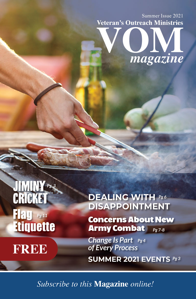 Summer 2021 VOM Magazine - Veteran's Outreach Ministries