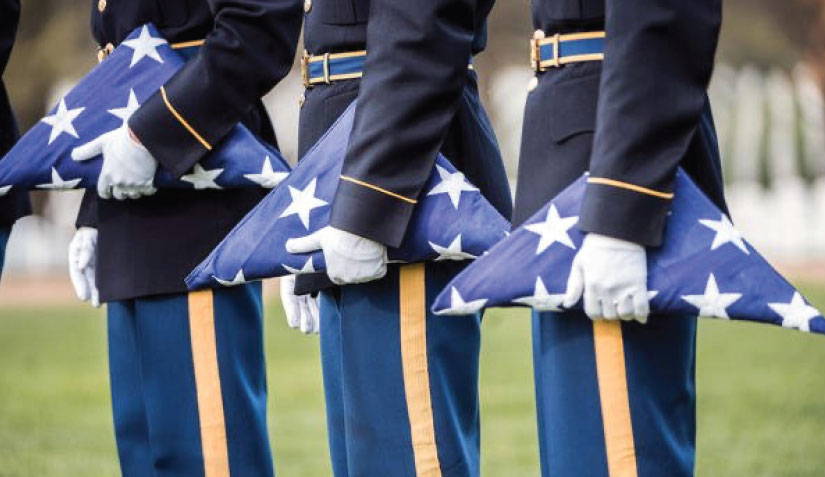 The Meaning Behind the 13 Folds of Old Glory - Veterans Outreach Ministries